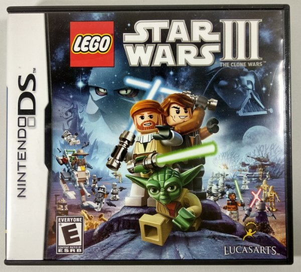 Lego Star Wars 3 Original - DS