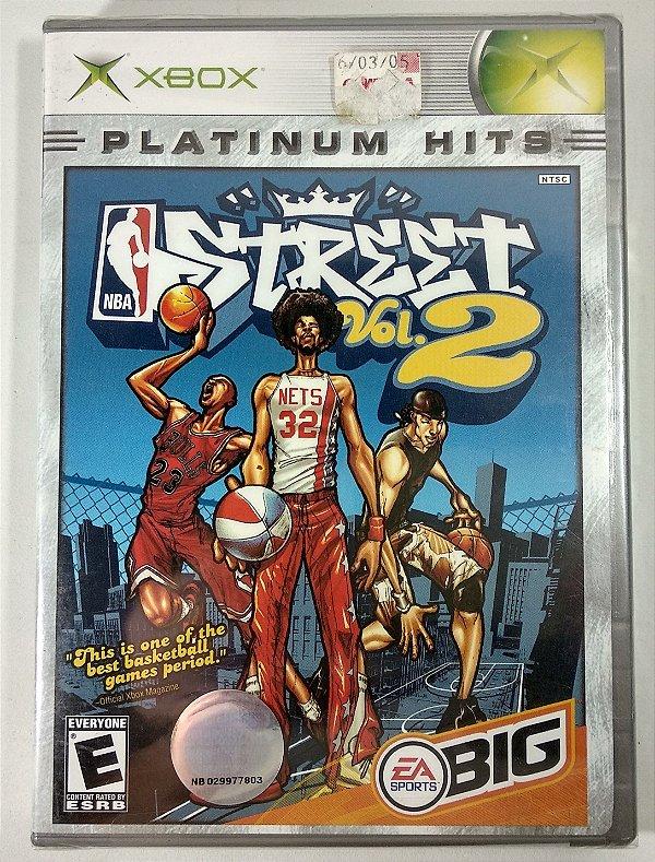 NBA Street Vol. 2 Original (LACRADO) - Xbox Clássico