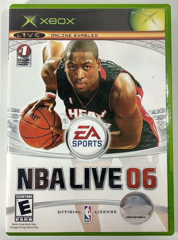 NBA Live 06 Original - Xbox Clássico