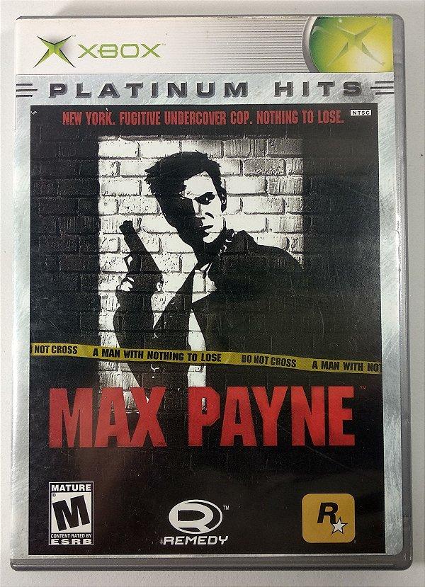Max Payne Original - Xbox Clássico