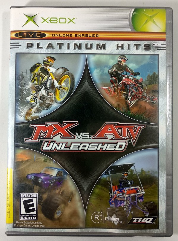 MX vs ATV unleashed Original - Xbox Clássico