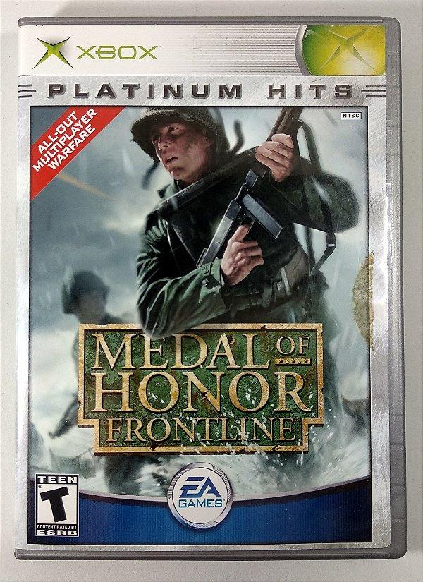 Medal of Honor Frontline Original - Xbox Clássico