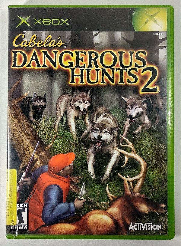 Cabelas Dangerous Hunts 2 Original - Xbox Clássico
