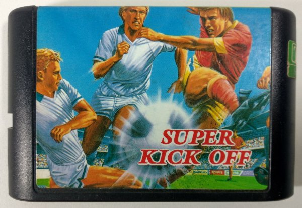 Super Kick Off - Mega Drive