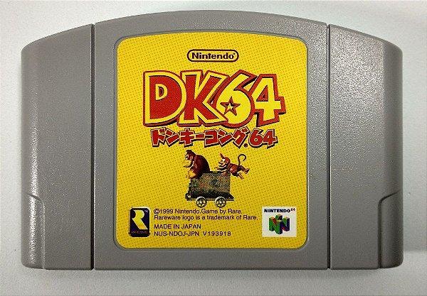 Jogo Donkey Kong 64 Original [JAPONÊS] - N64