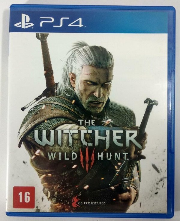 The Witcher III Wild Hunt - PS4
