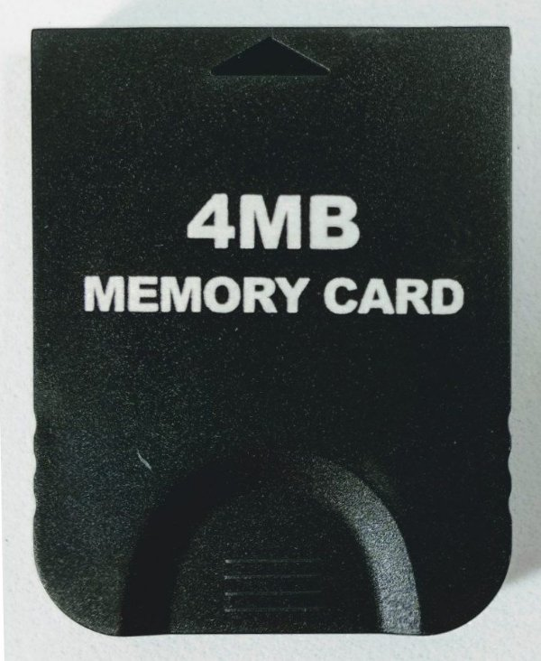 Memory Card 4MB (59 Blocos) - Game Cube