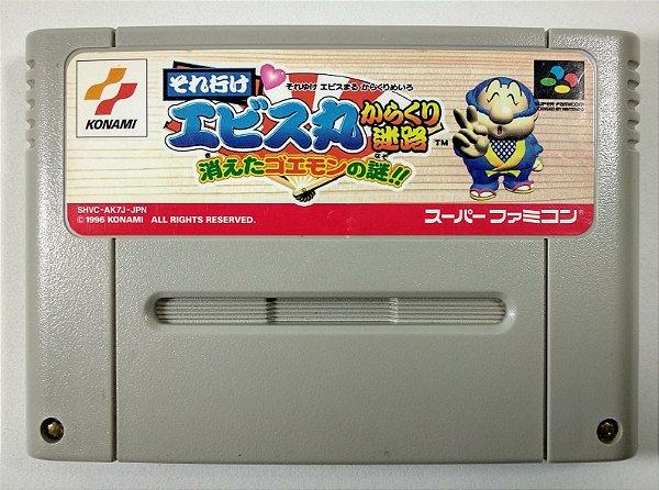 Soreyuke Ebisumaru Karakuri: Meiro Kieta Goemon no Nazo - Super Famicom