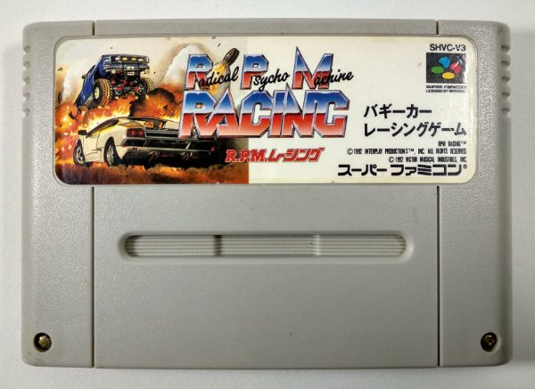RPM Racing Original - Super Famicom