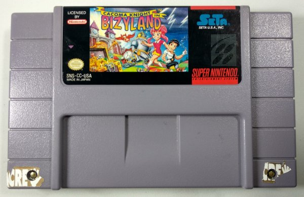 Cacoma Knight in Bizyland Original - SNES