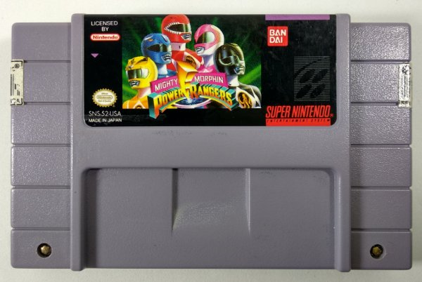 Power Rangers Original - SNES