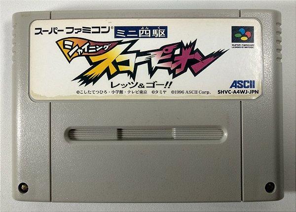 Mini-Yonku Shining Scorpion: Let's & Go!! Original - Super Famicom