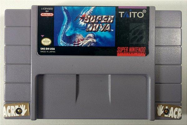 Jogo Super Nova Original - SNES