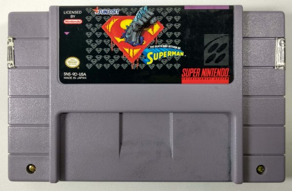 Superman Original - SNES