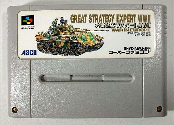 Daisenryaku Expert WWII: War in Europe - Super Famicom