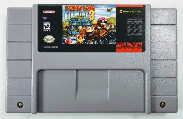 Donkey Kong Country 3 - SNES