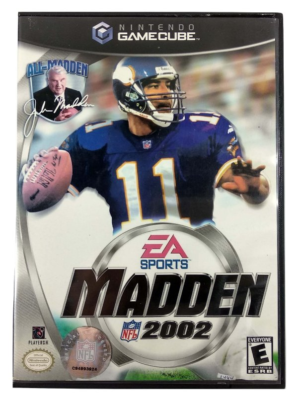 Madden 2002 Original - GC