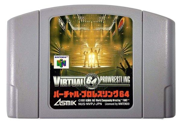 Virtual Prowrestling 64 Original [JAPONÊS] - N64