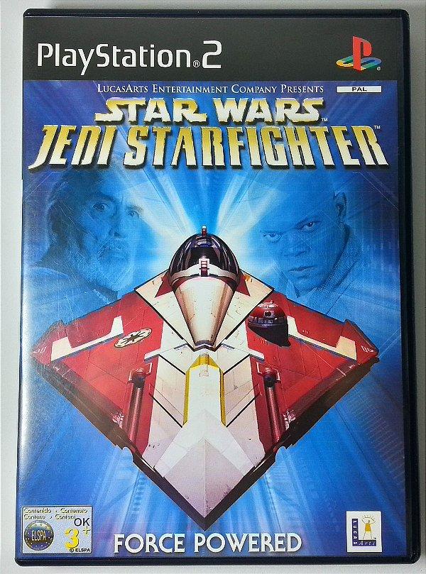 Star Wars Jedi Starfighter Original [EUROPEU] - PS2