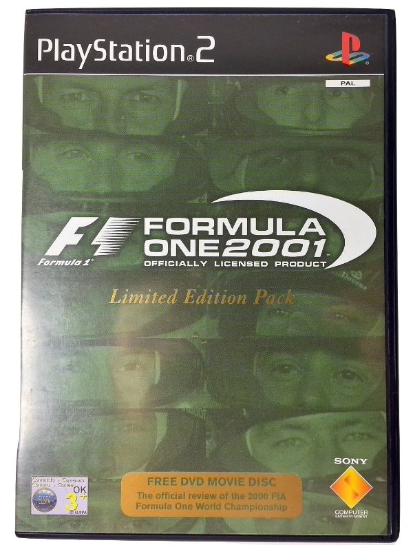 Formula One 2001 Limited Edition Pack Original [EUROPEU] - PS2