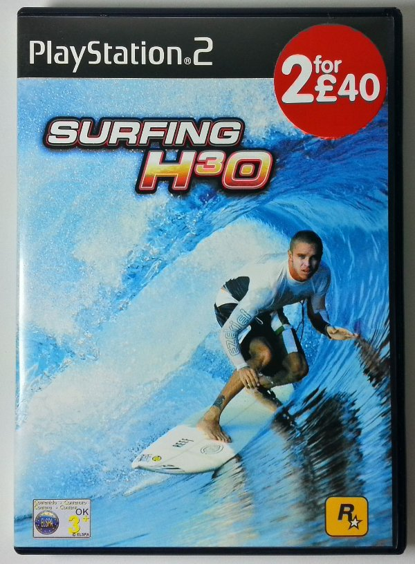 Surfing H3O Original [EUROPEU] - PS2