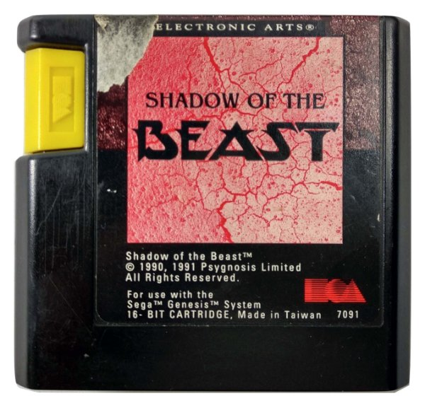 Shadow of the Beast Original - Mega Drive