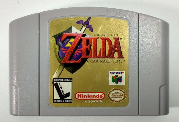 Zelda Ocarina of Time Original - N64