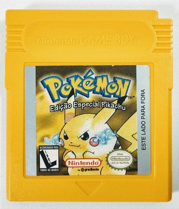Pokemon Yellow Original - GBC
