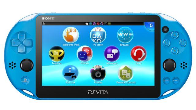 PS Vita Slim Aqua + cartão 32gb