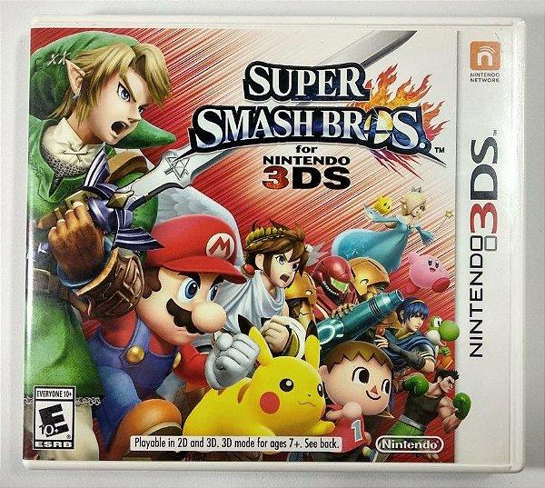 Jogo Super Smash Bros Original - 3DS