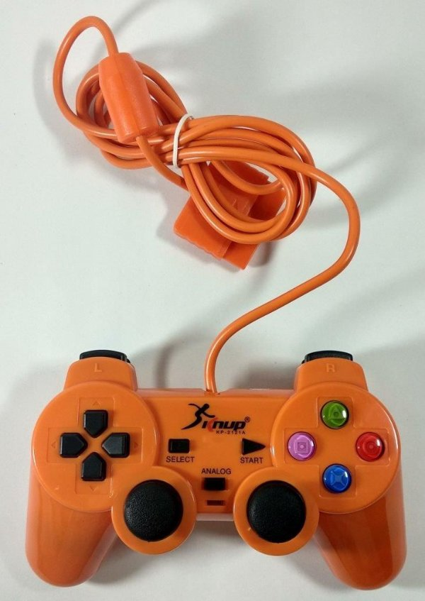 Controle (laranja) - PS1 ONE/ PS2