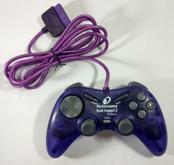 Controle Performance Dual Impact 2 - PS1 ONE/ PS2