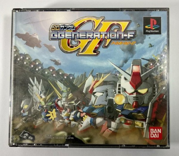 SD Gundam Ggeneration-F Original [JAPONÊS] - PS1 ONE