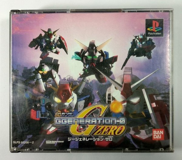 SD Gundam Ggeneration-0 Original [JAPONÊS] - PS1 ONE