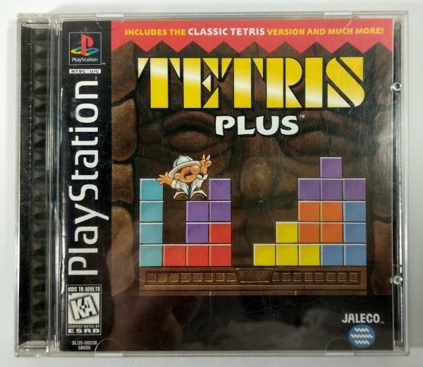 Tetris Plus Original  - PS1 ONE