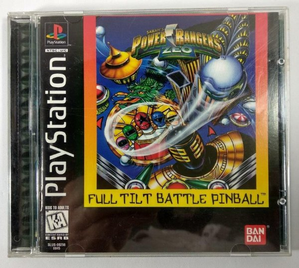 Power Rangers Zeo Pinball Original  - PS1 ONE