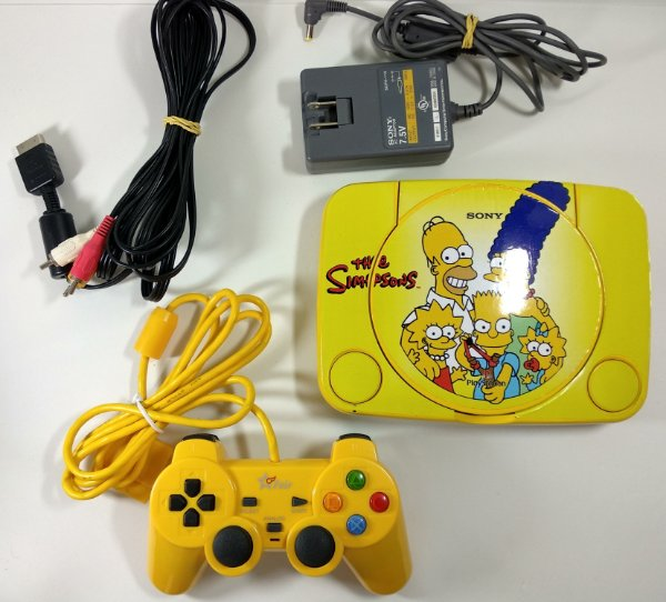 Playstation One Personalizado Simpsons - PS1 One