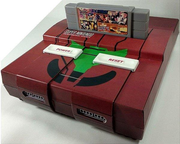 Super Nintendo Personalizado Metroid - SNES