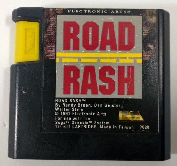 Road Rash Original - Mega Drive