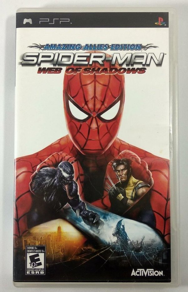 Spider-Man Web of Shadows Original - PSP