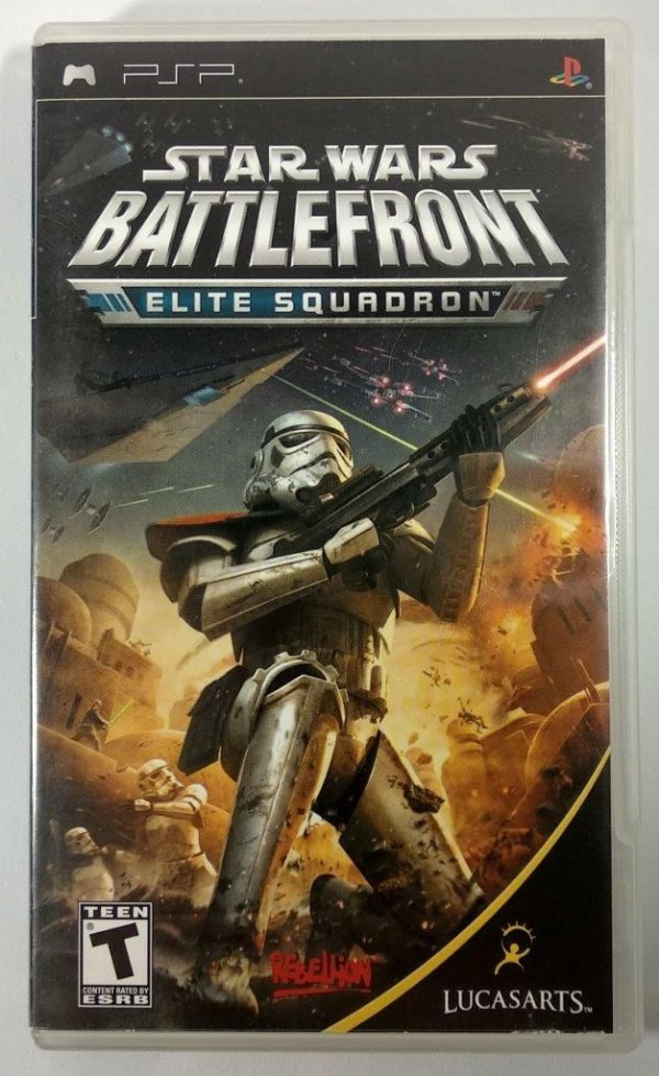Star Wars Battlefront Elite Squadrom Original - PSP