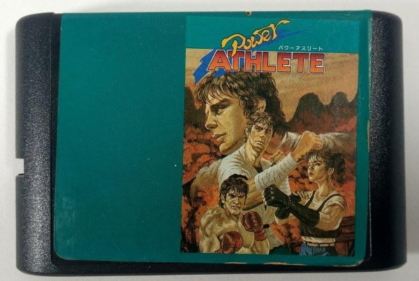 Power Athlete - Mega Drive