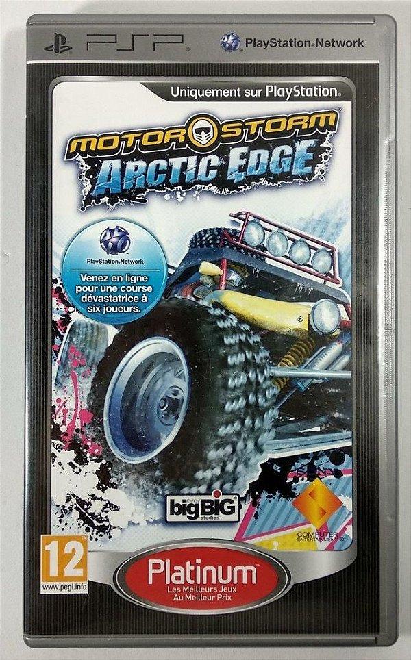 Motor Storm Arctic Edge Original [EUROPEU] - PSP