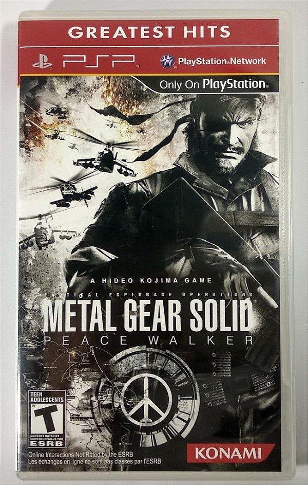 Metal Gear Solid Peace Walker Original - PSP