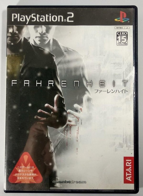 Fahrenheit Original [JAPONÊS] - PS2