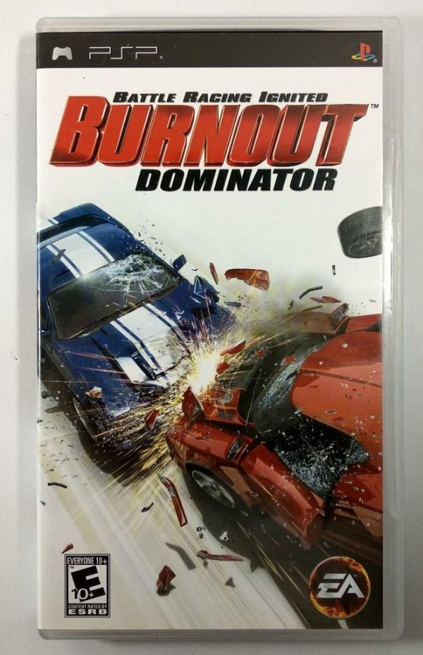 Burnout Dominator Original - PSP