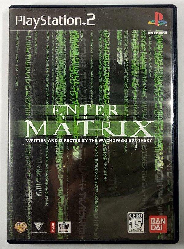 Enter the Matrix Original [JAPONÊS] - PS2