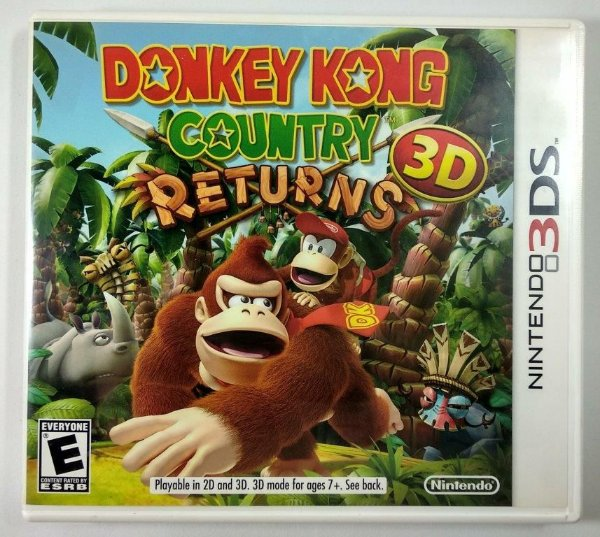 Donkey Kong Country Returns 3D Original - 3DS