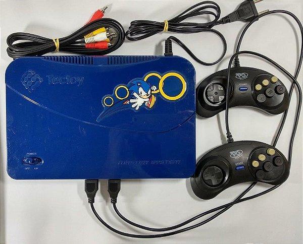 Master System Evolution com 132 jogos
