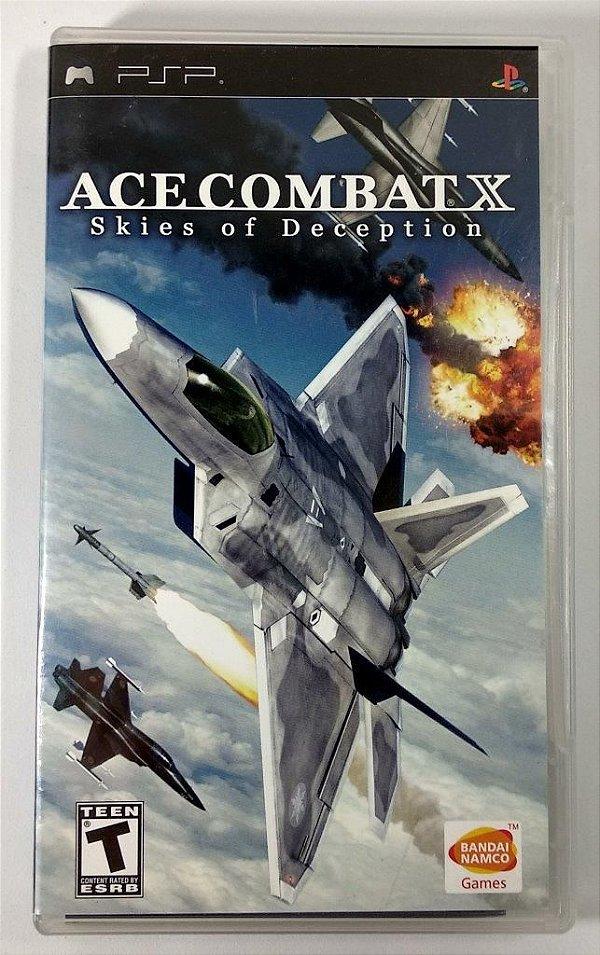 Ace Combat X Skies Of Deception Original - PSP